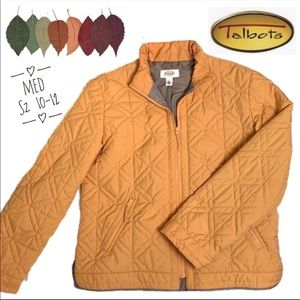 Talbots   Mid Weight Lined Quilted Jacket